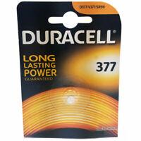 Duracell 376 / 377 SR626SW 1.5V Silver Oxide Watch Battery V377 SR66  AG4 SR626