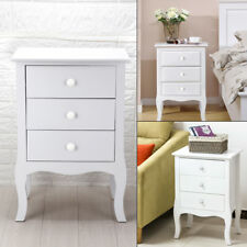 Modern Bedside Chest Side Table with Drawers Fashionable Cabinet Camille UK