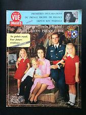 point de vue N°1200 sophie d'espagne & don juan     1971