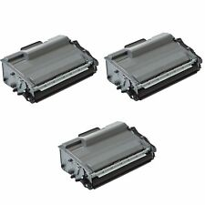 3 x Compatible NON-OEM TN3480 Black Toner Cartridge For Brother DCP-L6600DW