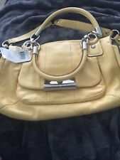 New Coach 16800 Medium Satchel Bag In Leather New With Tags