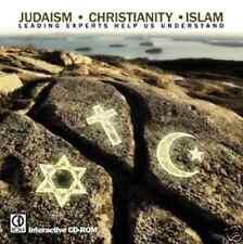 "New! ""Judaism•Christian ity•Islam"" (Windows Cd-Rom 2001) Chautauqua *Sealed*"