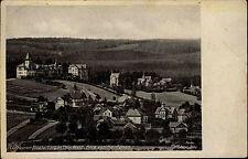 Finsterbergen Thüringer Wald 1945 Partie Blick v. Hainfelsen Fotograf Heu Totale