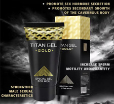 ORIGINAL TITAN GOLD Enlargement Growth Intimate Men Lubricant Gel Tantra Sex