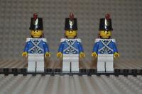 Piraten Bluecoat Soldiers pi152 pi154 pi155 kompat. zu Lego Sets 70413 70412 etc