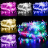 Warm White 500 LED 100M Fairy String Lights Christmas Tree Xmas Party Wedding GN