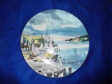 """Royal Doulton """"Fisherman'S Wharf"""" china plate ~ San Francisco ~ Dong Kingman"""