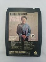 Merle Haggard Okie From Muskogee Live 8 Track Tape Cartridge Capitol