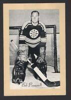 1944-63 Beehive Group II Boston Bruins Photos #56A Bob Perreault