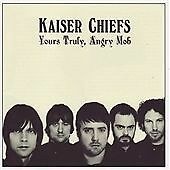 Kaiser Chiefs - Yours Truly, Angry Mob (2007) Used CD Very Good Condition