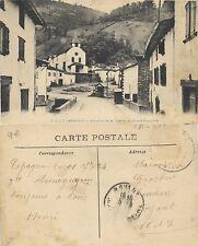 Tarjeta Postal. C.C.-3. Arneguy. Vue prise de la Caserne de Douane Espagnole.