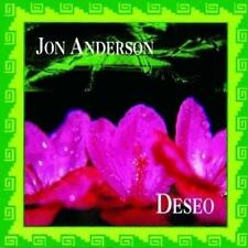 JON ANDERSON - DESEO (NEW & SEALED) CD Re-Issue Ex Yes Latin Album