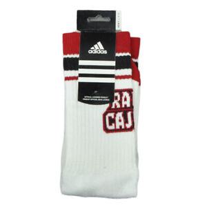 NCAA Adidas Louisiana Ragin Cajuns C240Z Long Socks Large Mens Shoe Size 9-11