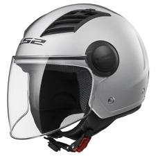 Casque Jet Ls2 Of562 Airflow Solid silver XXL