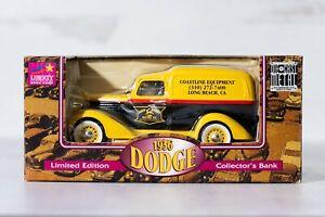Liberty Classics Die-Cast Collector's Bank - 1936 Dodge - Coastline Equipment
