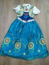 DISNEY AT GEORGE PRINCESS ANNA FANCY DRESS COSTUME - AGE 7-8 YEARS
