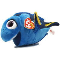 "TY Beanie Nemo Dory Blue Tang Fish Plush Stuffed Animal Disney 9"""