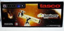 Tasco Luminova 76mm Reflector Telescope 40076420 420x Barlow Lens NEW in Box