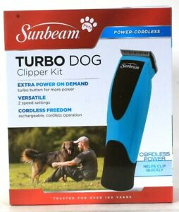 Sunbeam Extra Power Cordless Versatile Turbo Dog Clipper Kit
