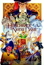 Hunchback of Notre Dame - original DS movie poster - D/S 27x40 Disney Animation