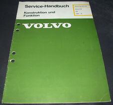 Werkstatthandbuch Volvo 340 Motor D16 ab Baujahr 1984 Ausgabe Februar 1985