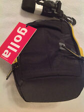 Camera Case. Golla. Brand New. Black with Yellow inside. Bud CG1111