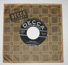 "Banjo George & His Trio 7"" 45 HEAR BLUEGRASS Tiger Rag DECCA China Boy"
