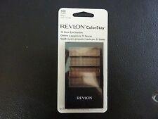 Revlon ColorStay 12 Hr Eye Shadow Quad- COFFEEBEAN (COFFEE BEAN) #310-New/Sealed