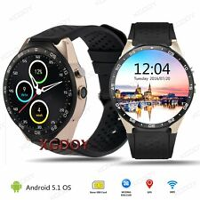 3G Smart Watch 4GB Phone Mate Bluetooth SIM GPS WIFI Sport For Android iOS HTC