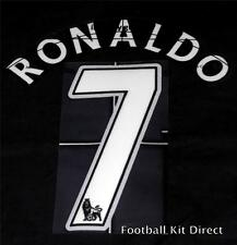 Manchester United Ronaldo 7 Football Shirt Name/Number Set Child/Youth Printing