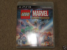 GREAT PS3 Lego Marvel Super Heroes video game - disc, case and manual