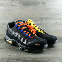 Nike Mens Air Max 95 PRM LA Vs NYC Black/Rush Blue AT8505 001 Size 6