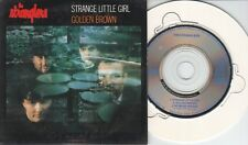 The Stranglers  CD-SINGLE  STRANGE LITTLE GIRL / GOLDEN BROWN  (c) 1988