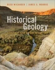 Historical Geology by Reed Wicander and James S. Monroe (2012, Paperback)