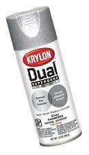 Krylon K08840001 'Dual' Superbond Paint and Primer Hammered Finish, Silver, 1...