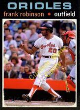 Custom made Topps 1971 Baltimore Orioles Frank Robinson baseball  card
