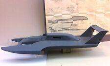 """DUMAS BOAT ATLAS VAN LINES U-1 RC """"UNLIMITED"""" MODEL RACE BOAT + OPS P65 ENGINE"""