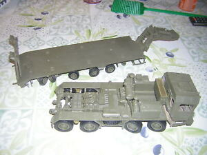porte chars / tank transporteur allemand FAUN SLT 56 a completer