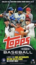 2014 Topps Mini Baseball Sealed Hobby Box - 1 Auto Or Relic Per Box