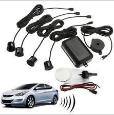 4 Parking Sensors Car Van Reverse Backup Rear Radar System Kit Sound Alert Alarm