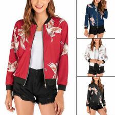 Manteaux vestes et gilets bombers sans marque pour femme