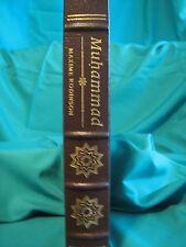 EASTON  PRESS Muhammad book Maxime Rodinson Leather 1989