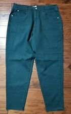 Women's Venezia hunter Green Jeans Size 20, tapered leg (Inventory w28) Nice!