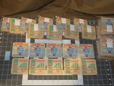 10 Old Style & Special Export Beer Coaster s G Heileman 2 Sided