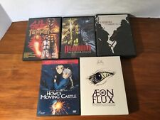 Tekken + Kagemusha + Aeon Flux + Howl's Castle + Highlander Anime Dvd Lot