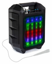 B-WARE LED Outdoor Party Bluetooth Lautsprecher Radio Box USB SD AUX MP3 Akku