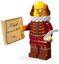 LEGO 71004 MINIFIGURES THE LEGO MOVIE SERIES #08 William Shakespeare