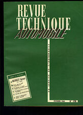 (C13) REVUE TECHNIQUE AUTOMOBILE CHEVROLET CORVAIR / FIAT 1800 et 2100