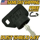 Ignition Key Replaces John Deere AM153650, AM131946, GY20680, AM123426