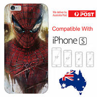 iPhone Silicone Cover Case Spiderman Marvel Avenger Peter Parker - Coverlads